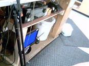 TRIPOD MICROPHONE STAND W/BOOM
